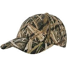 Realtree Edge//verwitterter braun Buck Horn und USA Flagge Jagd Hat