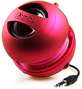 X-Mini II 2nd Generation Capsule Speaker with 3.5mm Jack Compatible with iPhone/iPad/iPod/Smartphones/Tablets/MP3 Player/Laptop - Pink