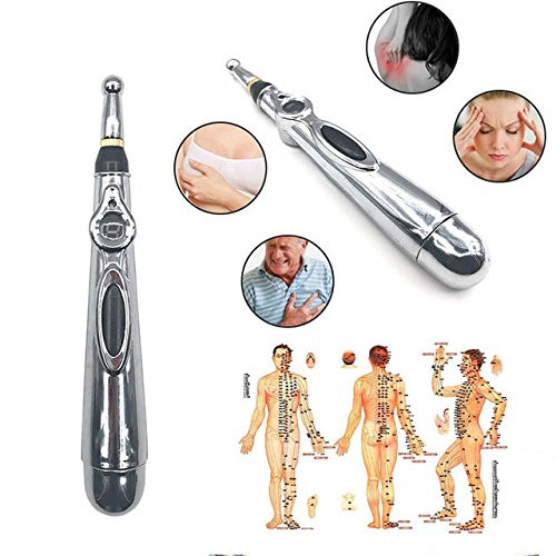 Winnes Akupressurstab Akupressur Stift, Massagestift Akupunktur Stift , Meridianische Energie