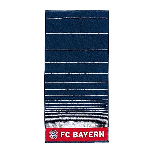 FC Bayern Badetuch 'navy Streifen' 180x90cm