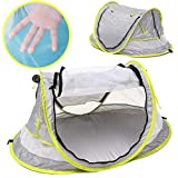 SLB Works Pop Up Portable Beach Tent Kids Canopy Sun Shade Shelter Foldable