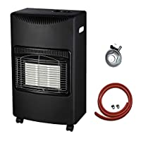 NEW CALOR 4.2kw PORTABLE HEATER FREE STANDING HEATING CABINET BUTANE GAS HEATER 7