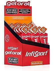 Infisport 71598.0 Gel Oral, Unisex Adulto, Naranja, 18 Sobres