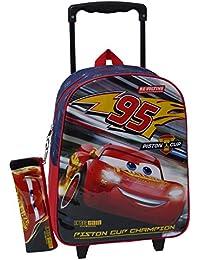 Toy Bags - Cars 3 3 Mochila escolar con ruedas de Disney (023)
