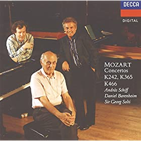 Mozart: Concerto for 2 Pianos and Orchestra (No.10) in E flat, K.365 - 2. Andante