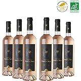 Vin rosé - Château Font du Broc 2015 - AOP Côtes de Provence - Vin bio - 6x75cl