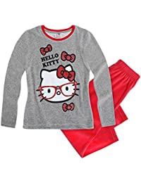 Hello Kitty Chicas Pijama (Velour) - Rojo