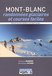 Mont-Blanc, randonnées glaciaires et courses faciles : Le topo-guide des plus belles randonnées glaciaires et courses faciles du massif du Mont-Blanc, ... pour la pratique de l'alpinisme