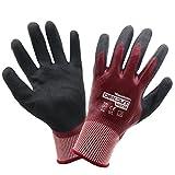 Evilandat Wonder Grip WG 718 Gas öl Schutz Arbeit Handschuhe Nitril EN388 Stufe 5 Schutz