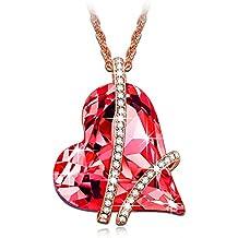 LADY COLOUR - Promesa - Collar mujer con cristales de SWAROVSKI® - la coleccion Corazon de Cristal