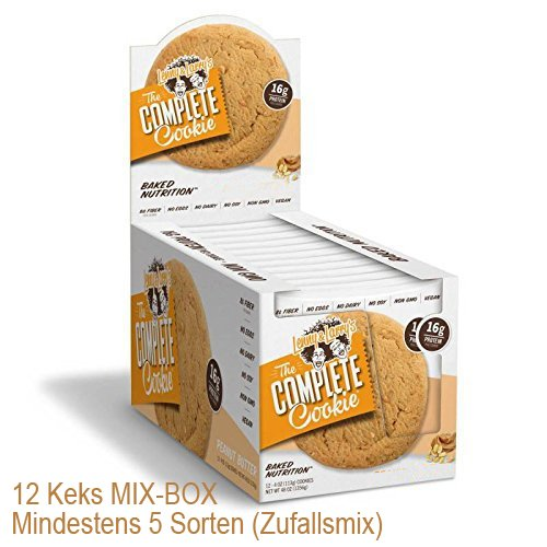 Protein Brownie (Lenny & Larry's Muscle Complete Cookie, MIX BOX 12 Kekse Box)