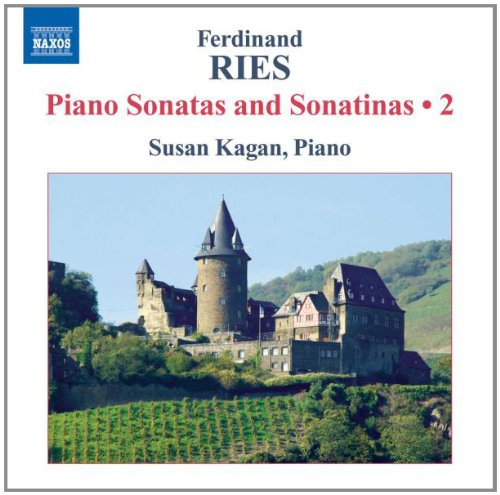 Ferdinand Ries : Sonates et sonatines pour piano, volume 2