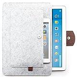 zanasta Tablet Tasche Filz Sleeve Hülle Universal Filztasche 7-12 Zoll/Samsung Galaxy Tab/Microsoft Surface Pro/iPad Air/Pro & MacBook 12