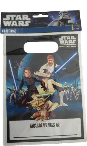 Star Wars The Clone Wars Partytüten - 8 Stück