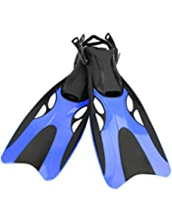 Kamidi Adult Dive Snorkeling Swimming Scuba Fins Flippers de plongée Équipement submersible Snorkel Shoes Long Feet