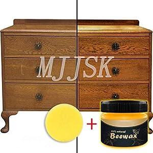 Cera D'api Naturale per mobili e Legno - Polish mobili Impermeabile e Resistente all'abrasione - Non Tossica per I… 51aD23XP XL. SS300