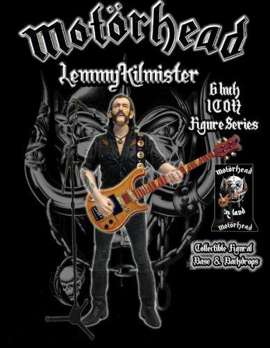 Preisvergleich Produktbild Motörhead Actionfigur Lemmy Kilmister Rickenbacker Guitar Dark Wood 16 cm