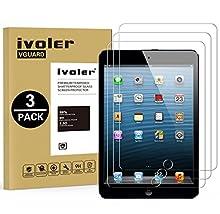 iVoler [3 Pack] Pellicola Vetro Temperato per iPad PRO 12.9 Pollici 2015/2017, Pellicola Protettiva, Protezione per Schermo