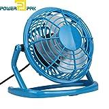#8: Powerpak Plastic Mini Fan(Blue)