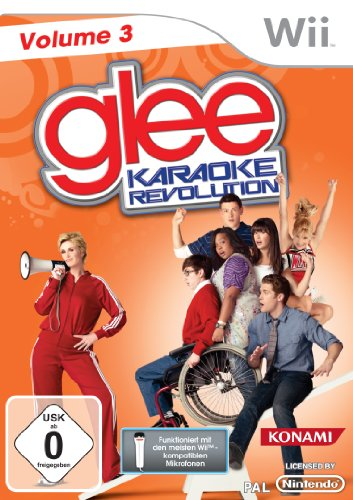 Karaoke Revolution Glee Vol. 3 (Revolution Wii-karaoke Glee)