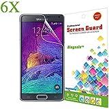6 x Bingsale Displayschutzfolie Samsung Galaxy Note 4 Displayschutz Schutzfolie Folie (samsung galaxy note 4, 6er)