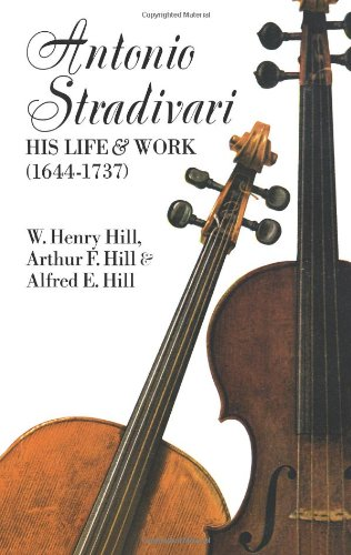 Antonio Stradivari: His Life and Work [Lingua inglese]