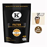 K-Coffee Drip - Pour Over Coffee mit Einwegfilter aus Baumwolle - Praktische Alternative zu Kaffeepads und...