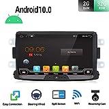 Android 9.0 Dubbele Din Auto Stereo voor Renault Duster/Dacia Sandero/Lada Xray 2/Renault Captur/Logan 2 8 Inch Auto Audio GPS Navigatie Hoofdeenheid Ondersteuning WiFi 4G Bluetooth SWC Google Gratis Camera Canbus