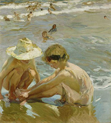 Das Museum Outlet - Joaquin Sorolla - Die verwundete Fuß - Poster Print Online (A3 Poster) -