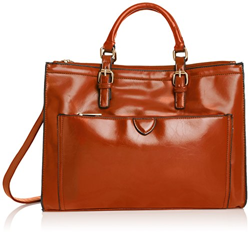 Swankyswans Damen Kerry Office Work Tasche, Braun (Tan), One Size - Prada Red Bag