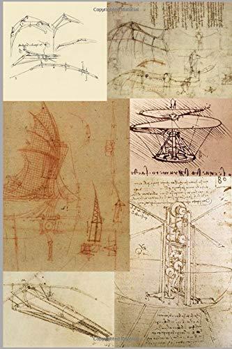 Leonardo Da Vinci's Flying Machines: An Aviation Themes Lined Notebook Journal Old Flying Machine