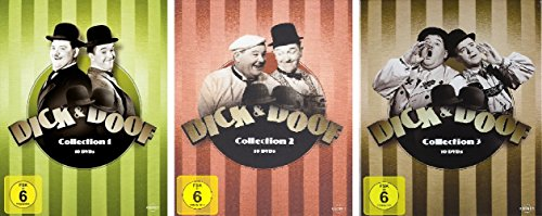 Dick & Doof Collection – Box 1+2+3 im Set – Deutsche Originalware [30 DVDs]