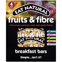 Eat Natural Frutta & Breakfast Prugna Fibra Bar 4 X 40g