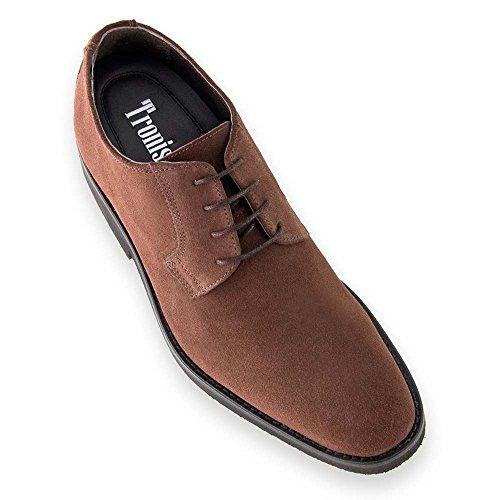 Con Aumentan Hasta Masaltos En Que Piel Zapatos Cm 7 Alzas De Altura Fabricados Hombre wHqxt8YFq