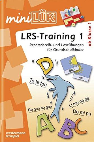 miniLÜK: LRS - Training 1: Rechtschreib- und Leseübungen für Grundschulkinder