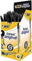 BIC Cristal Original - Pack de bolígrafos de punta redonda