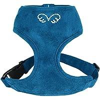 Cucciolo di angelo du Angione Suede, Cintura, Grande, colore: blu