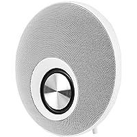 VBESTLIFE Altavoz Portátil Inalámbrico Bluetooth al Aire Libre Sonido Llmadas Manos Libres Soporte TF Tarjeta (Blanco)