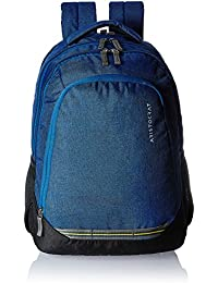 Aristocrat Gusto Fabric 30 Ltrs Blue Laptop Backpack (LPBPGUS1BLU)