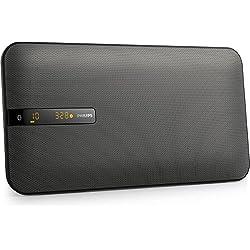 Philips BTM2660 Mini Chaîne Hifi Bluetooth Plate Design avec Lecteur CD, Radio FM, USB, Montable au Mur
