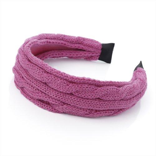 Bling en ligne en tricot recouvert Bandeau.