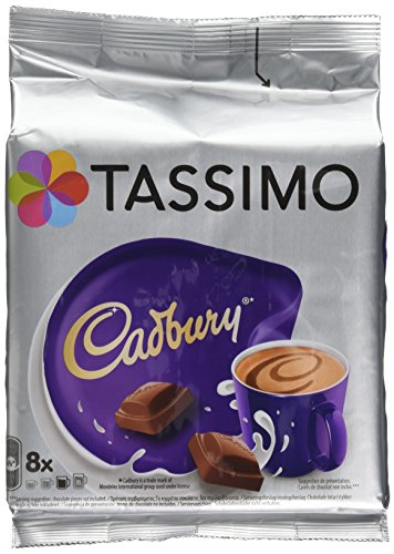 Product Image of TASSIMO Cadbury Hot Chocolate Drink 8 discs, 8 servings (Pack of 5, Total 40 discs/pods, 40 servings)