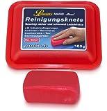 100 Gramm rote Petzoldt's Profi-Reinigungsknete MAGIC-Clean - die scharfe Lackknete