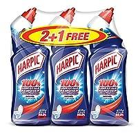 Harpic Liquid Toilet Cleaner - Limescale Remover Orginal, 3 Packs of 750ml