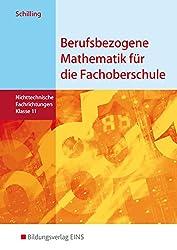 Berufsbezogene Mathematik für die Fachoberschule Niedersachsen nichttechnische Fachrichtungen: Schülerband 11