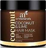 ArtNaturals Kokos-Limone Haarkur - - Intensiv-Kur und Feuchtigkeitsspender für alle