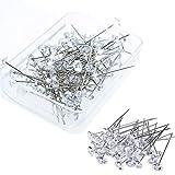 Spilloni diamante Crystal Head pins, pezzi, gioielli Round pins for wedding DIY, cucito, artigianato, cucito, decorazioni, corpetto floreale bouquet spille con scatola di plastica