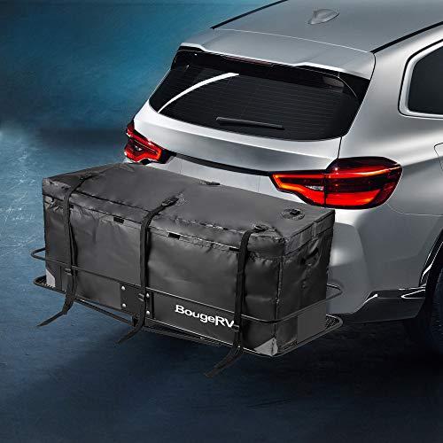 BougeRV wasserdichte Dachbox Gepäcktasche Gepäckträger Frachtbox für PKW LKW SUV Vans Roof Top Rear