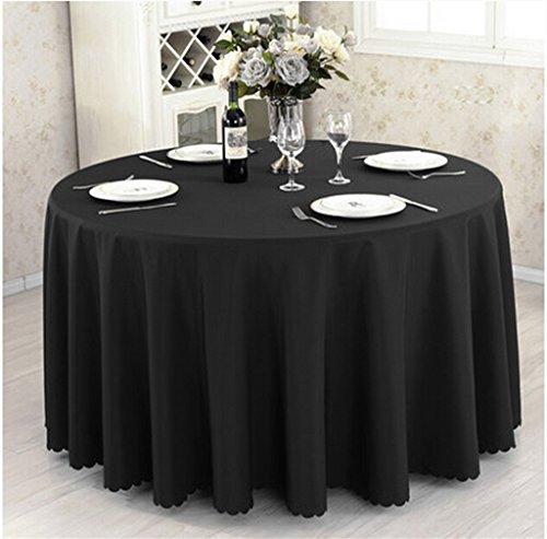 Ispessimento Solid Color Hotel Table Cover Ristorante Tovaglia Meeting Picnic Wedding Banquet Rosso circolare Tovaglia ( colore : A , dimensioni : 320cm )
