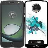 DesignedByIndependentArtists Hülle für Lenovo (Motorola) Moto Z Play - Tanzmusik-Disco-Partei by WonderfulDreamPicture